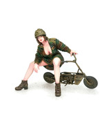 """75mm Overlord Show-stopper - """"Welbike"""" OL-75-0018 Resin Kit - $39.90"""