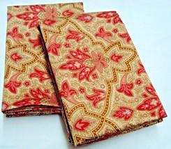 2 Standard Pillowcases Set two new Ralph Lauren LANGHAM paisley red pink... - $68.69