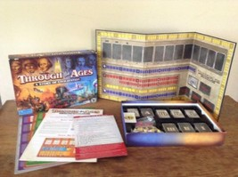 Through the Ages: A Story of Civilization Board Role Play Game Vlaad Chv... - $25.23