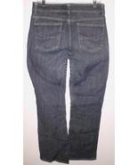 LEE Jeans 10 Medium No Gap Waistband Boot Cut Mid Rise Blue Stretch Deni... - $21.37