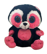 "New Peek A Boo Toys Bright Eyes Plush Raccoon 17"" Pink Beanie Boo Valent... - $19.79"
