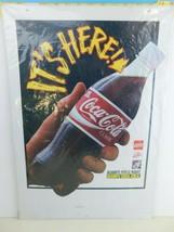 Vintage Coca Cola  Display Hanging Sign Ceiling Dangler 1994 NOS New in ... - $27.71