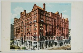MN The West Hotel Minneapolis National Buttermakers Assoc. Advert Postca... - $14.95