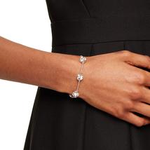 Kate Spade Lady Marmalade Chain Link Bracelet, Silver image 4