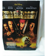 Pirates of the Caribbean The Curse of the Black Pearl DVD  2003  2 Disc - $9.89