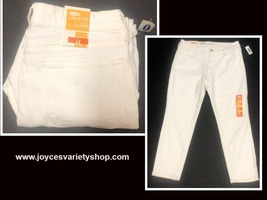 Old Navy Rock Star White Crop Jeans Sz 12 image 1