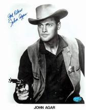 John Agar autographed 8x10 Photo Image #2 - $69.00