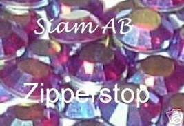 72 Swarovski Crystal Rhinestones ~30ss ~ Siam AB - $17.77