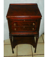 Rosewood Inlaid 2 Drawer NIghtstand / Side Table  (NS47) - $399.00