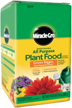 Miracle Gro Water Soluble All-Purpose Lawn Plant Food Grow Flower Fertil... - $7.25