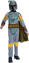 Star Wars Child's Boba Fett Costume Small Gray Standard Packaging Small - $28.14
