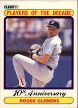 1990 Fleer Baseball Base Singles #510-658 (Pick Your Cards) #627 Roger Clemens ' - $1.49