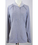 LULULEMON Think Fast Long Sleeve Pullover Cuffins Thumbholes Heather Gra... - $49.49