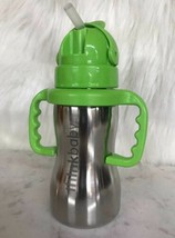 Thinkbaby Cup - Sippy water bottle - Of Steel -  10 oz green - $19.75