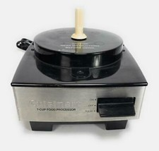 CUISINART 7 Cup Food Processor SS BASE ONLY Motor Stainless Steel - $22.76