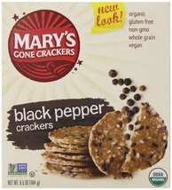 Mary's Gone Crackers | Crackers-Black Peppr [Gluten Free and Organic] 6.... - $10.88