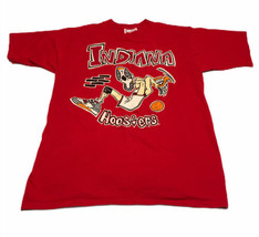 Vintage Crable Sportswear Indiana Hoosiers Men's Shirt SS Sleeve DS Coll... - $18.95