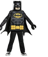 LEGO Batman Movie BATMAN Tunic & Mask Costume - Boys Medium (7/8) Dress ... - $24.94