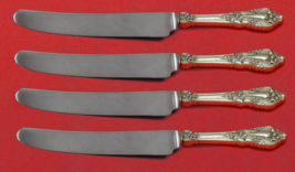 """Eloquence by Lunt Sterling Silver Fruit Knife Set 4pc Custom Made 7"""" HHWS - $319.00"""