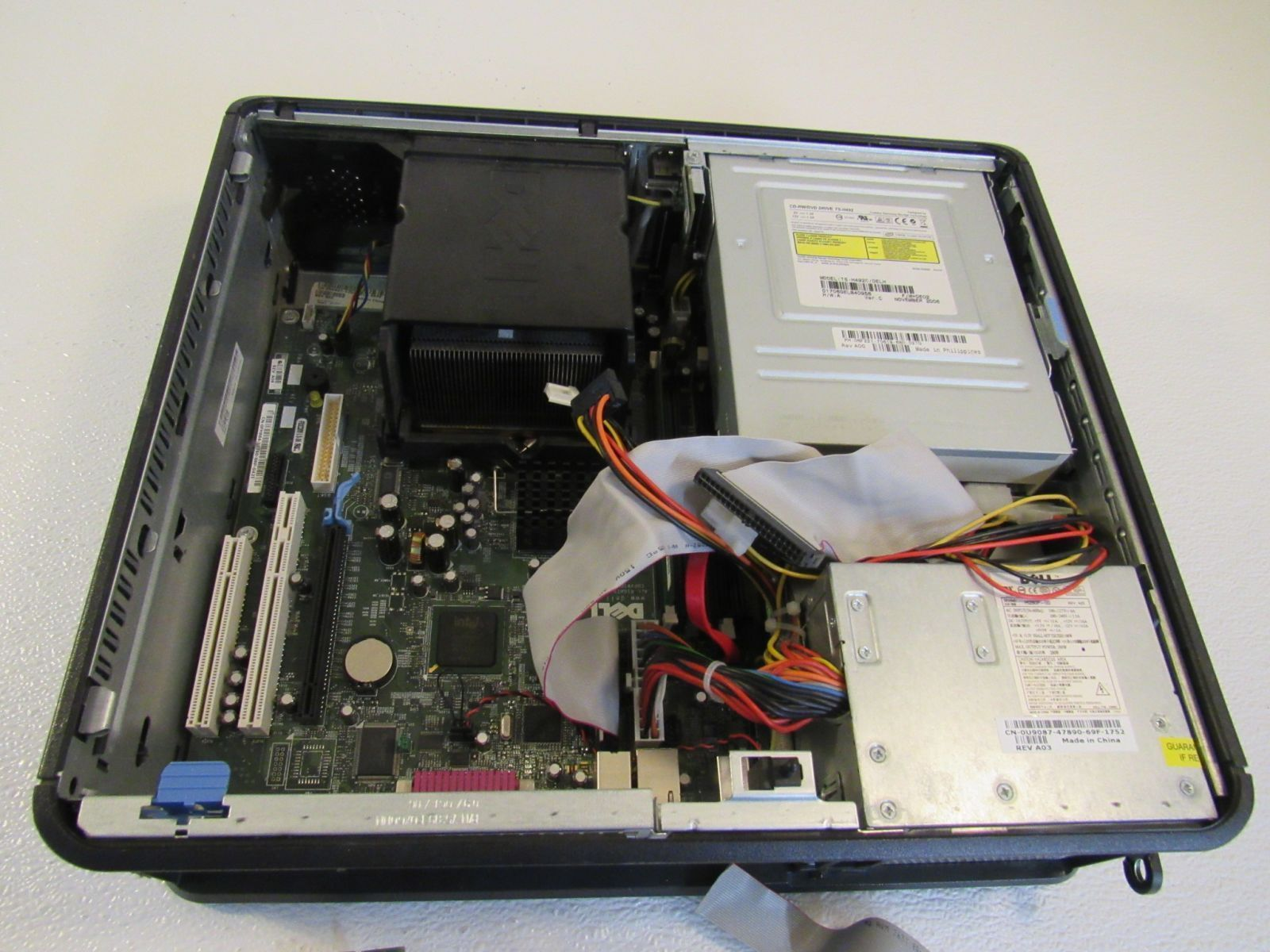 Gateway 3.00GHz Optiplex Desktop Computer Black 256MB RAM 40GB HD DVD-RW GX620