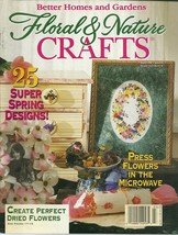 Floral & Nature Crafts Magazine Better Homes and Gardens March 1996  - $6.99