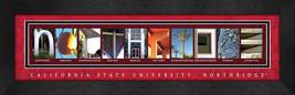 California State University - Northridge Framed Campus Letter Art - $39.95