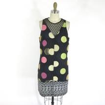 S - MAEVE Anthropologie NWT NEW $158 Tilde Polka Dot Metallic Weave Dres... - $65.00
