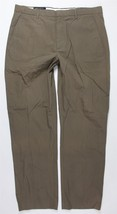 NWT Banana Republic Tailored Fit Pinstriped Brown Dress Pants MENS 35 x 32 - $39.99