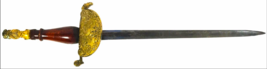 SWORD ~ GOLDEN KNIGHT ~ MEXICO OFFICER'S DIRK 1825 BRASS MOUNTS TREASURE - $5,950.00