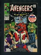 Avengers #54 G 1968 Marvel 1st Ultron (cameo) Comic Book - $80.25