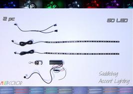 2pc Multi-Color LED Flexible Motorcycle Lower Fairing Lighting Kit - $54.45