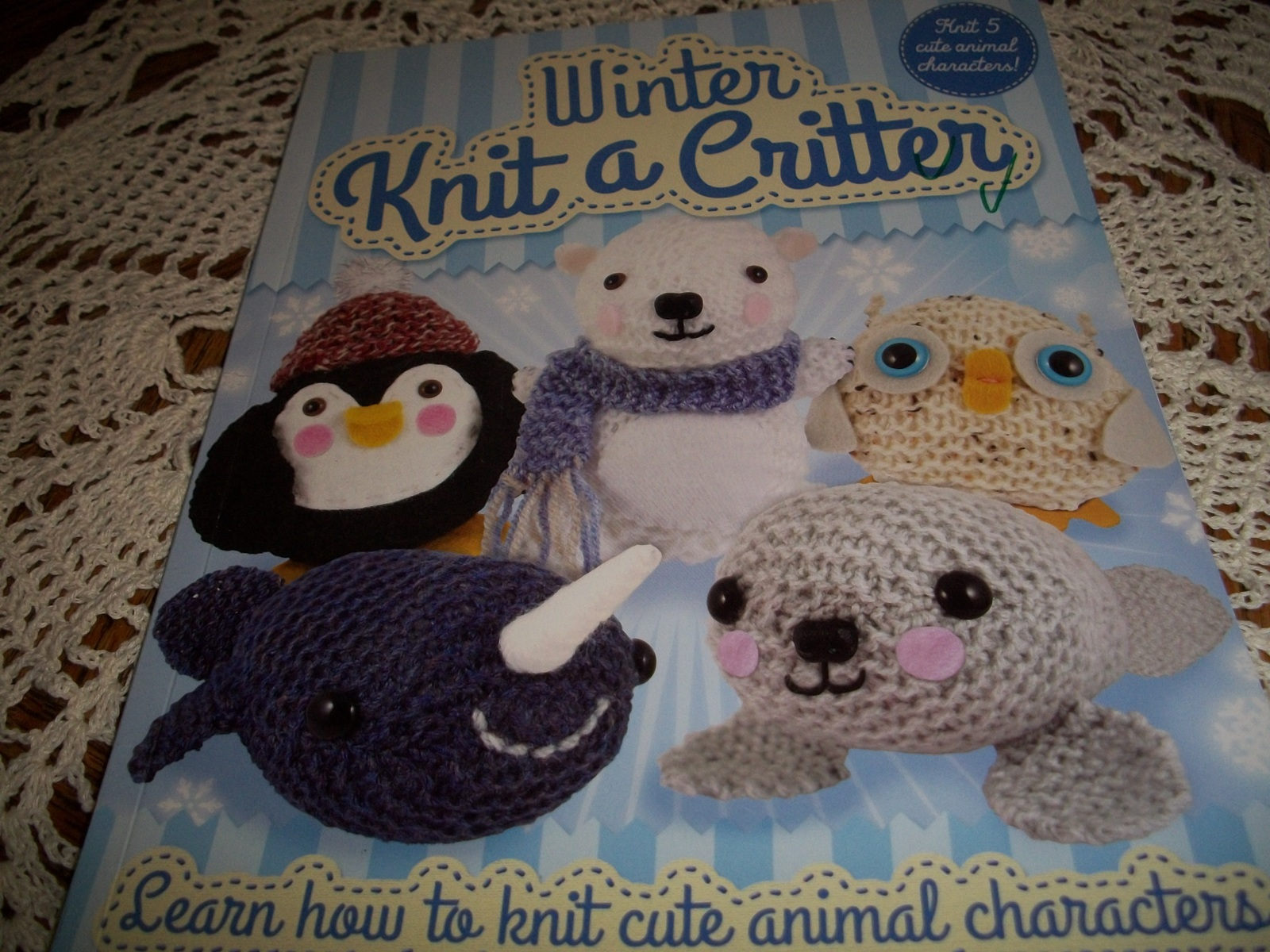 Primary image for Winter Knit a Critter: Learn How to Knit Cute Animal Characters