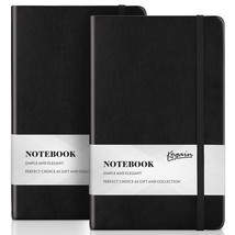 Bullet Dotted Journal 2-Pack, Dot Grid Hardcover A5 Notebook with Inner ... - $14.71