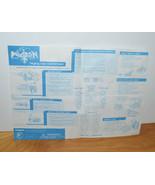 VINTAGE TRENDMASTERS VOLTRON MIGHT LION INSTRUCTION SHEET 1998 ACCESSORY... - $10.23