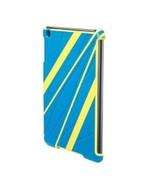 iPad Mini Sport Shield Protective Cover Case Scosche Bright Aqua Blue Ye... - $4.94