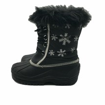 Earth Kalso Techonology Black Boots Thinsulate Insulation  Size 3 - $29.70