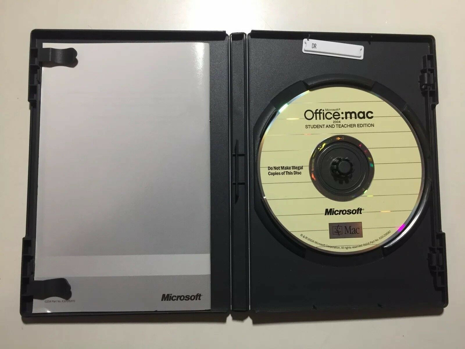 Microsoft Office 2004 For Mac Student And Teacher Edition Pre Owned