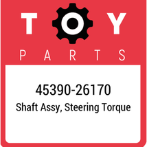 45390-26170 Toyota Shaft Assy Steering, New Genuine OEM Part - $92.24