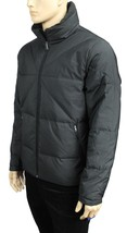 NEW MEN'S NAUTICA WATER RESISTANT BLACK SOLID QUILTED DOWN JACKET $228 - $69.99