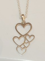 Authentic Sterling Silver Heart Necklace  - $39.00