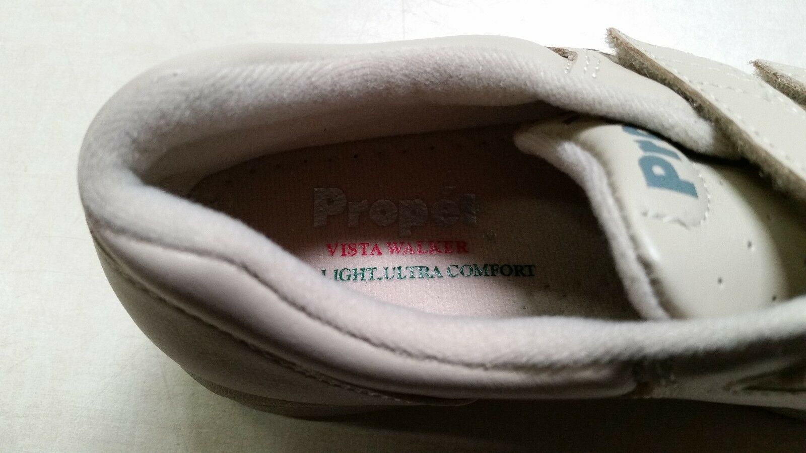 Propet Vista Strap W3915 Bone W3915BO-M-06H US Size 6.5 B / M Womens Shoes Value