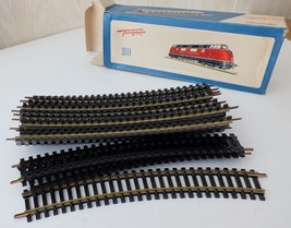 Fleischmann HO Scale Curved Train Track 1703 Box of 20 -New Old Stock. R... - $18.50