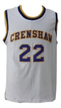 McCall #22 Crenshaw High Love And Basketball Movie Jersey White Any Size image 1