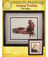 Cross Stitch Eagle Portrait On the Wind Framed Piece Patterns - $13.99