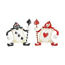 Enesco The World of Miss Mindy Alice in Wonderland Ace of Hearts and 3 o... - $45.01