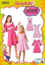 Simplicity Sewing Pattern 3902 Child/Girl Dresses, HH (3-4-5-6) - $6.92