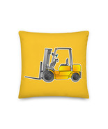 Forklift Truck Pillow Cushion Construction forklift Operator Hyster Elec... - $32.00+