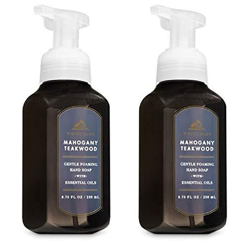 Primary image for Bath & Body Works Gentle Foaming Hand Soap in Mahogany Teakwood (2 Pack)