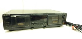 Sony TC WE435 Dual Stereo Cassette Deck Tape Player  - $123.40