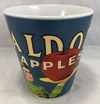 Waldorf Apples Coffee Tea Cup Mug Sakura Table Oneida Vintage Labels 12o... - $12.86